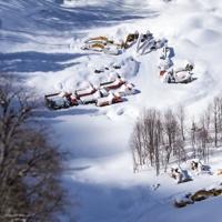 Горная Карусель без лыж