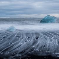 Jökulsárlón. Glacier Lagoon